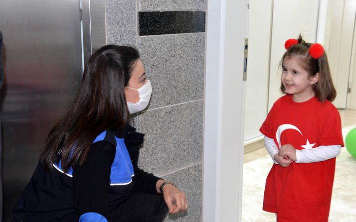 Kahramanmaraş'ta polis şehit çocuklarını yalnız bırakılmadı
