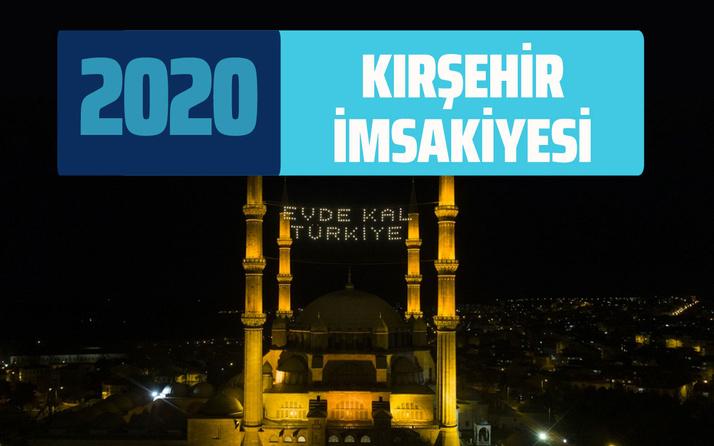 Kırşehir sahur İmsakiyesi 2020 Kırşehir imsak vakti iftar saatleri