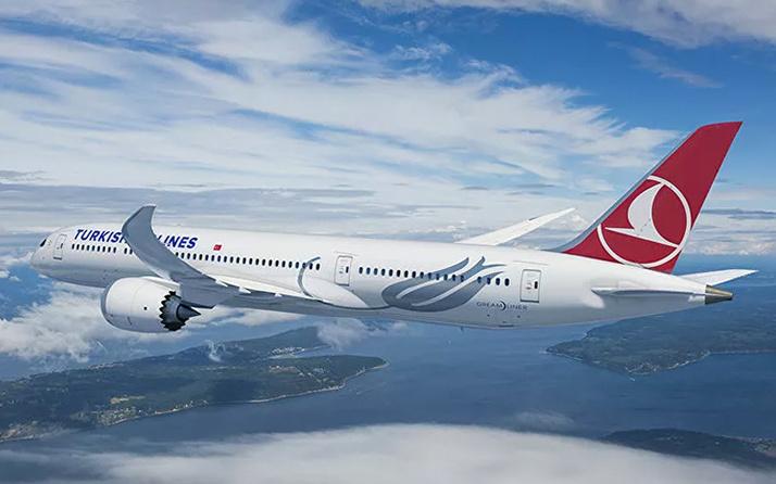 Ankara'dan kalkan THY uçağı bakın ne yapıyor?  100. yıla özel 'TK1920' uçuşu