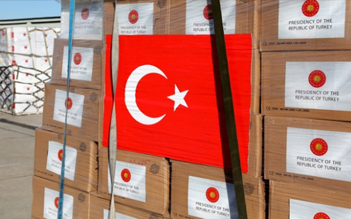 Türkiye'den Fransa'nın Orne bölgesine tıbbi yardım