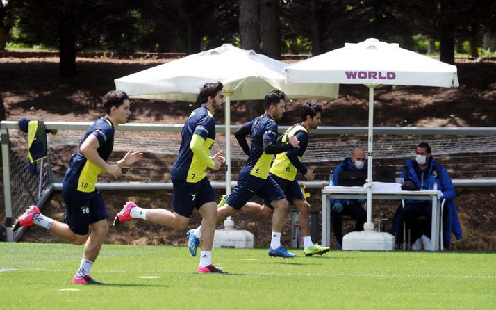 Fenerbahçe'de çalışmalara Alper Potuk da katıldı
