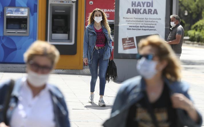 Ankara Valiliği açıkladı: Maske takmayan 1147 kişiye 1 milyon lira ceza