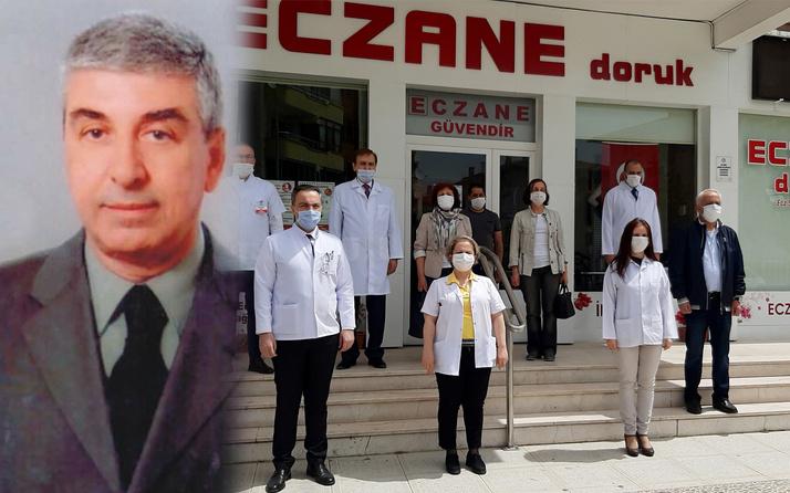 Edirne'de koronavirüsten ölen eczacı meslektaşları tarafından anıldı