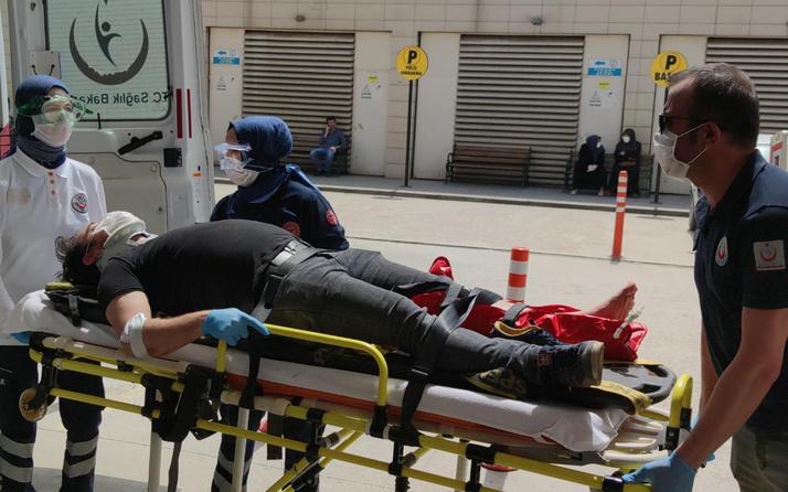 Bursa'da dün motosiklet aldı bugün kaza yaptı