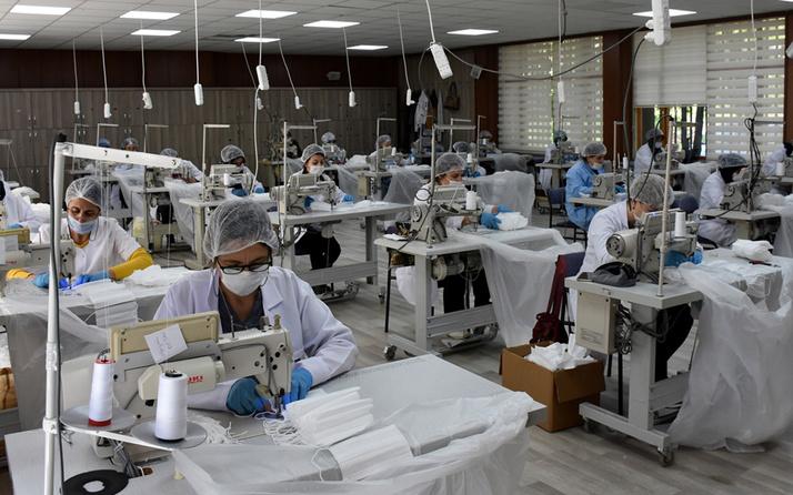 Cumhurbaşkanı Yardımcısı Oktay: Kırıkkale'deki tesiste aylık 45 milyon maske üretilecek