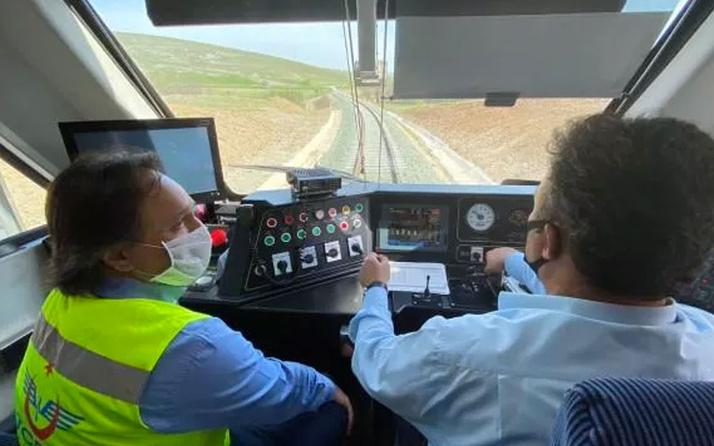 Samsun-Kalın demiryolu hattı yenileme işlemi tamamlandı hizmete açıldı