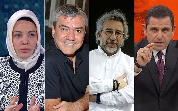 Hilal Kaplan 4 ünlü muhalif ismi yazdı Erdoğan'a dil uzatırlarsa fena hatırlatırız
