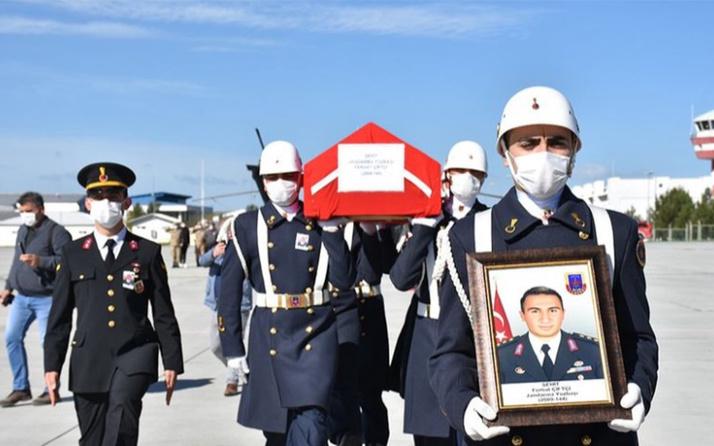 Kars'ta şehit olan Yüzbaşı Ferhat Çiftçi'nin cenazesi törenle memleketine uğurlandı