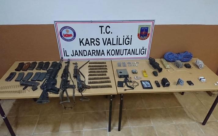 Kağızman'da 3 PKK'lı terörist silah ve teçhizatlarıyla birlikte ölü olarak ele geçirildi