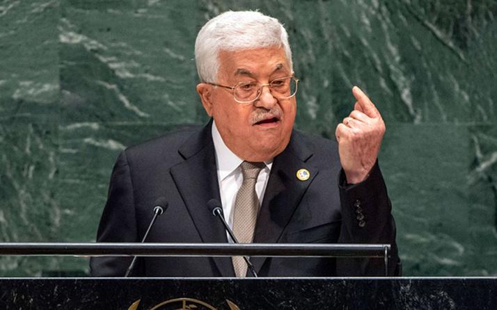 Filistin, ABD ve İsrail'le varılan tüm anlaşmalardan çekildi! Mahmud Abbas açıkladı
