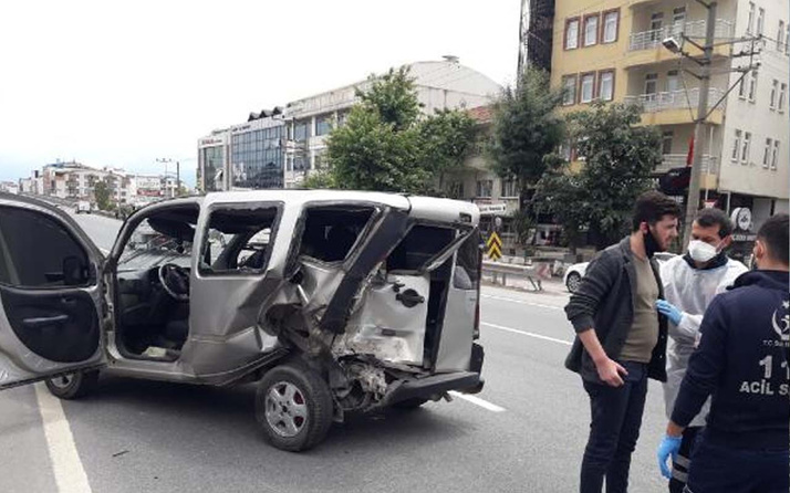 Kocaeli'deki kazaya 'Hatalı sollama' yapan sürücü sebep oldu