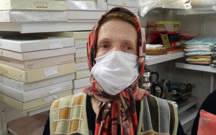 Bolu'da 45 yıldır esnaflık yapan kadın kepenk açtı