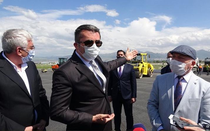 Erzurum Valisi Memiş: Havalimanı bitmezse mesleğimi yapamam sokağa çıkamam