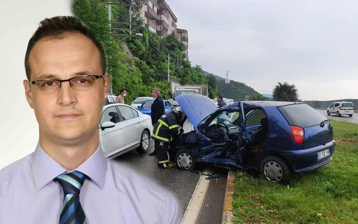 Zonguldak'ta ambulans ile otomobil çarpıştı 1'i ağır 2 yaralı
