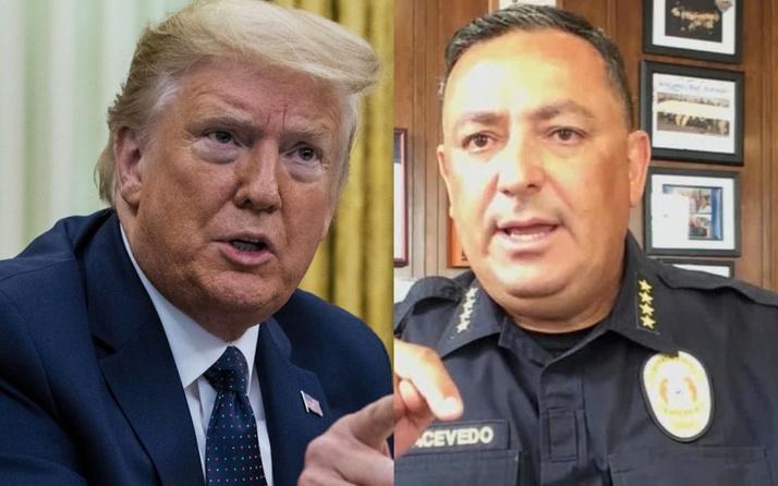 Polis şefi  Art Acevedo'dan Trump'a tepki: Çeneni kapat