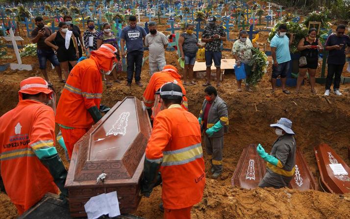Brezilya'da 1262 Meksika'da 470 kişi öldü! İşte koronada son durum