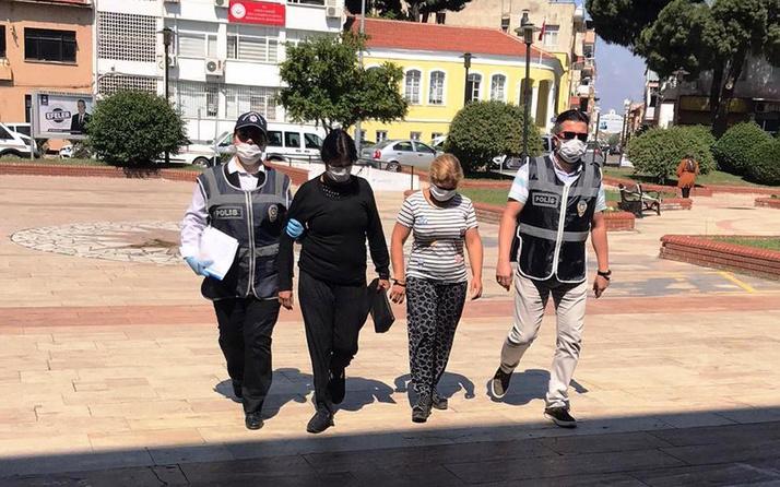 Aydın'da yankesici 2 kadın yakalandı