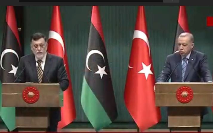 Cumhurbaşkanı Erdoğan'dan Libya mesajı yeni mutabakat imzaladık