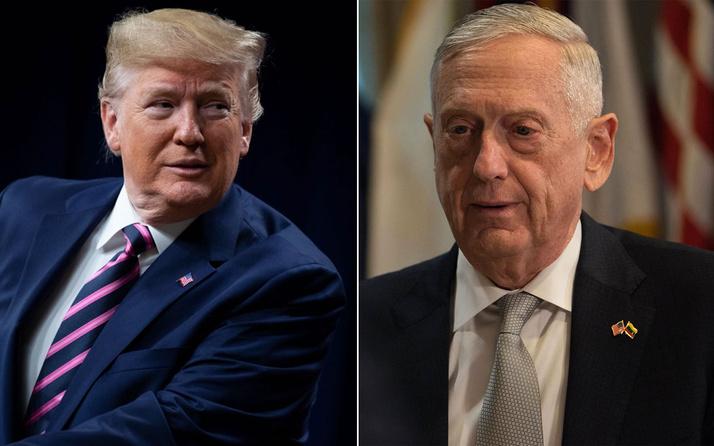 ABD Başkanı Trump protesto polemiğinde eski bakanı James Mattis'e fena saydırdı