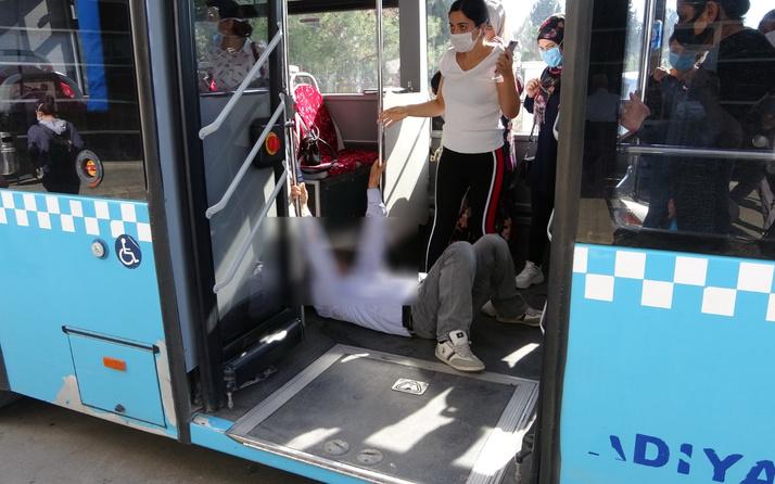 Adıyaman'da korona şüphelisi hastaneye kaldırıldı yolcular karantinaya alındı