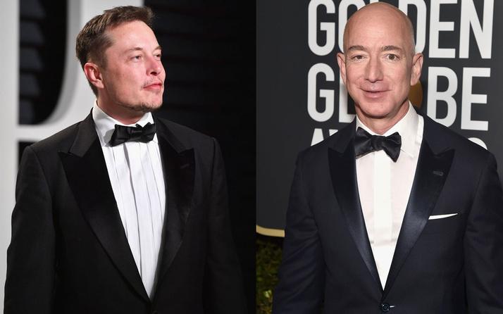 Elon Musk hedef tahtasına Jeff Bezos'u koydu! Çok sert çıktı