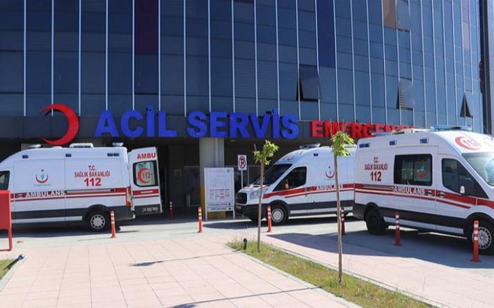 Erzincan'da korkunç kaza! Yolcu otobüsü devrildi: 19 yaralı