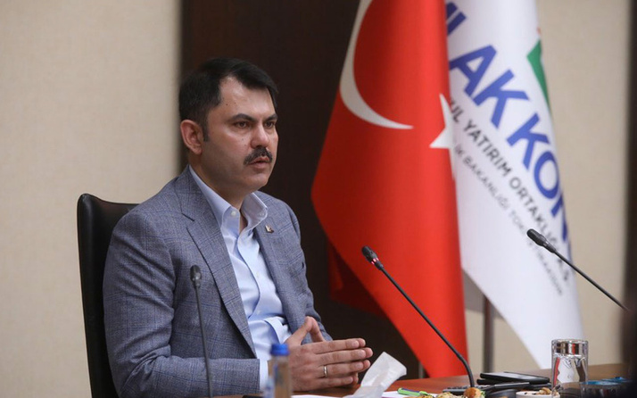 Çevre ve Şehircilik Bakanı Murat Kurum gayrimenkul sektörü temsilcileriyle buluştu