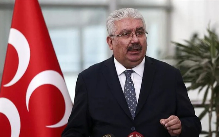 MHP'den 'Serok Ahmet' Davutoğlu'na sert cevap! 'Trend Topic olmak için Bahçeli'ye dil uzatıyor'