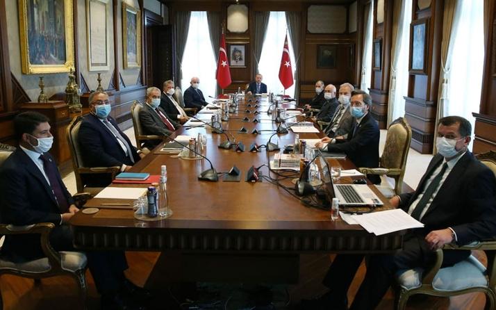 Yüksek İstişare Kurulu Cumhurbaşkanı Erdoğan başkanlığında toplandı