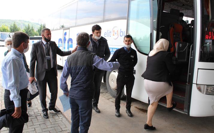 Otobüslerdeki koronavirüs yasağı esnetildi