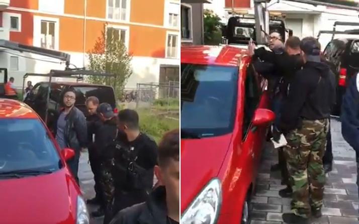 Berlin'de Türk avukata ters kelepçe tepki çekti