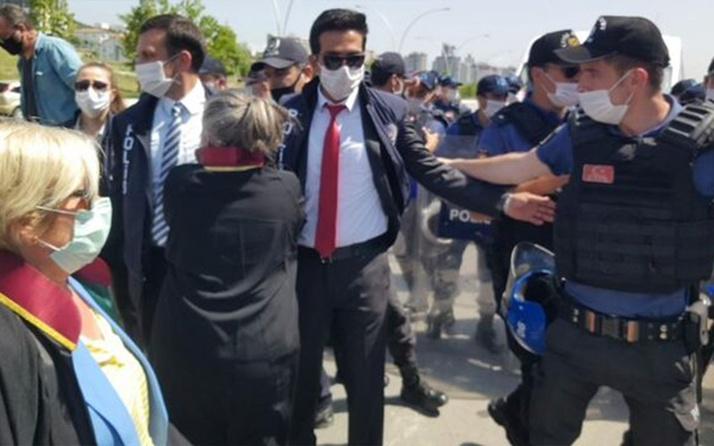 Baro başkanları Ankara girişinde durduruldu! Oturma eylemi başlattılar
