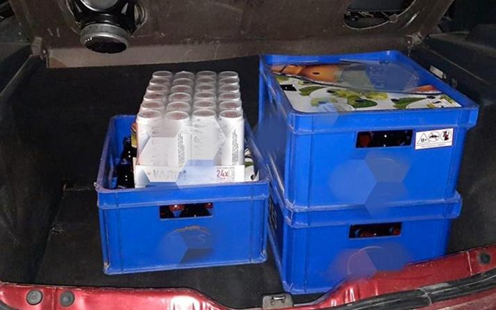 Eskişehir'de otomobilde içki satışına 56 bin lira ceza kesildi