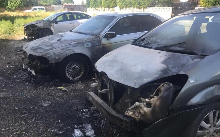 Konya'da vatandaşın etinden tırnağından arttırdığı otomobillere göz diktiler