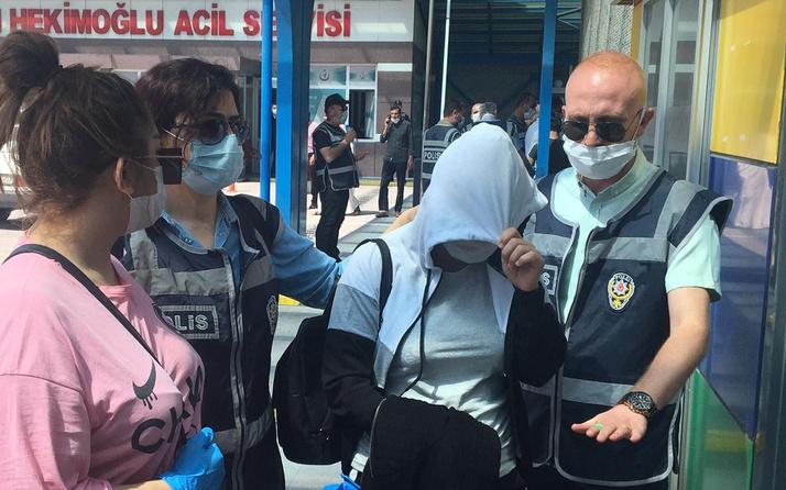 Konya'da yapılan fuhuş operasyonunda 10 şüpheli gözaltına alındı