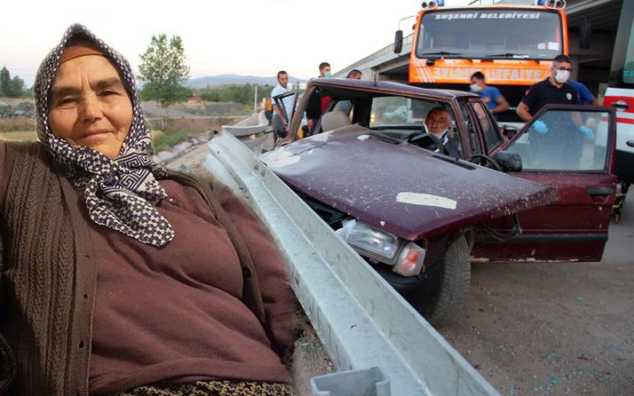 Sivas'ta 75 yaşındaki sürücü bir kişiyi ölüme götürdü