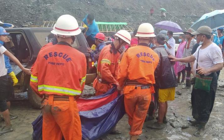 Myanmar'da maden faciası! En az 113 kişi hayatını kaybetti