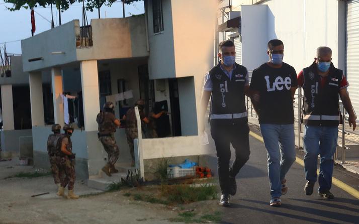 Adana'da Özel Harekat destekli suç örgütü operasyonu