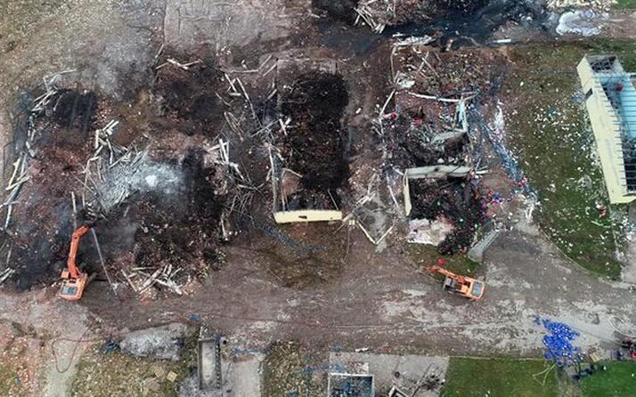 Havai fişek fabrikasındaki patlamayla ilgili 3 gözaltı