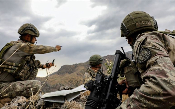 Pençe-Kaplan Operasyonu'nda PKK'lı 3 terörist etkisiz hale getirildi
