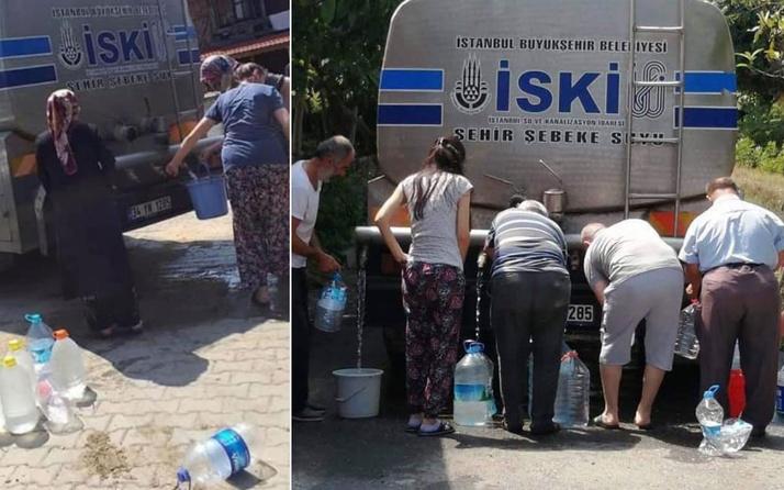 AK Parti İstanbul İl Başkanı Bayram Şenocak'tan Şile'deki su kuyruğuna tepki: EkoFelaket