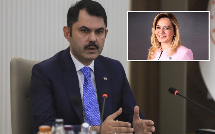 Bakan Murat Kurum Aylin Cesur'a tepki gösterdi: Edebini koru