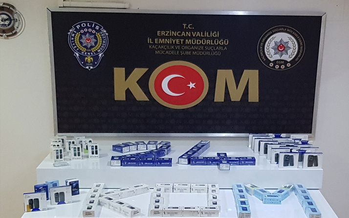 Hepsi Erzincan'da ele geçirildi! Gözaltına alınanlar var