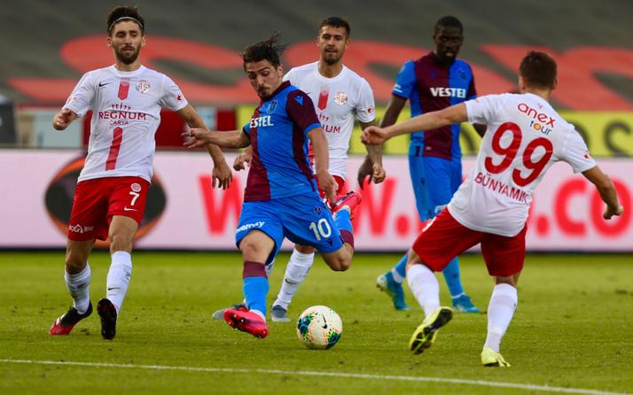 Trabzonspor Antalyaspor maçı golleri ve geniş özeti