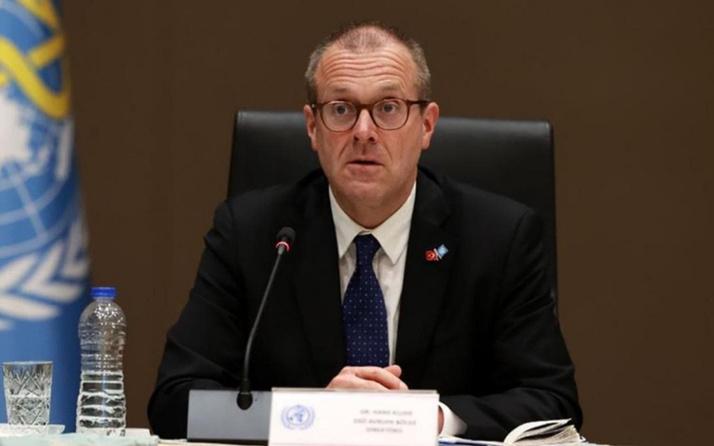 DSÖ Avrupa Direktörü Kluge: Türkiye en önemli kuralı yapmış durumda