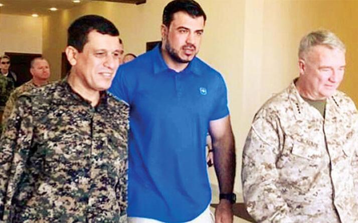 ABD'den YPG'li isme skandal ziyaret! Bakın neler konuştular