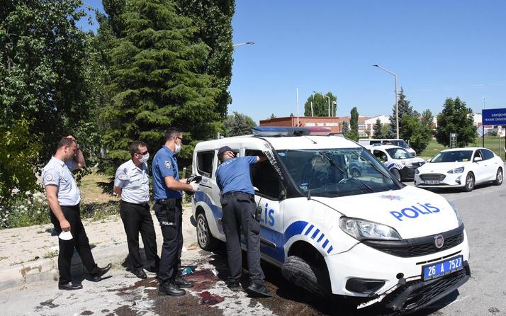 Eskişehir'de trafik kazasında yaralanan polis memurundan acı haber