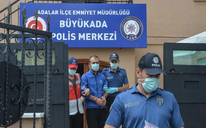 Heybeliada'daki yangınla ilgili gözaltına alınan kişi  tutuklandı