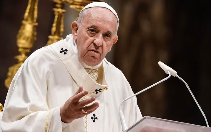Ayasofya için 'çok acı çekiyorum' diyen Papa'ya tokat gibi cevap