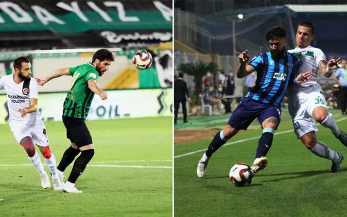 Süper lig yolunda finalistler Adana Demirspor ile Fatih Karagümrük oldu